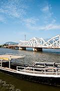 Old Bridge over the Kampot river