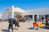 Marfa, Texas, Marfa Public Radio Station, popular hangout, tourists