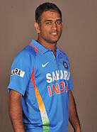 Cricket - India T20 Squad Head Shots