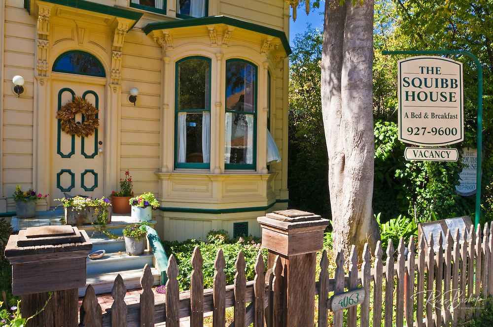 Squibb House bed and breakfast, Cambria, California