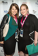 Katie Williams and Jen Kessler on the red carpet during opening night of the 25th Anniversary New Orleans Film Festival; Opening night film is 'Black and White' directed by Mike Binder