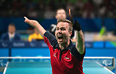 20160911 Paralympics Rio 2016 - Bordtennis finale Peter Rosenmeier