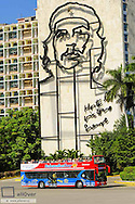 Cuba, Havana, Plaza de la Revolucion, Habana Bus Tour, Habana