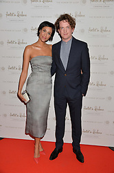 ZAWE ASHTON and OLIVER HARBOTTLE  at a screening of 2 short films as part of the Corinthia Hotel's Artist in Residence held at The Corinthia Hotel, Northumberland Avenue, London on 12th May 2014.