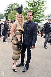 BRUNO TONIOLI and  at Day 1 of the 2013 Royal Ascot Racing Festival at Ascot Racecourse, Ascot, Berkshire on 18th June 2013.