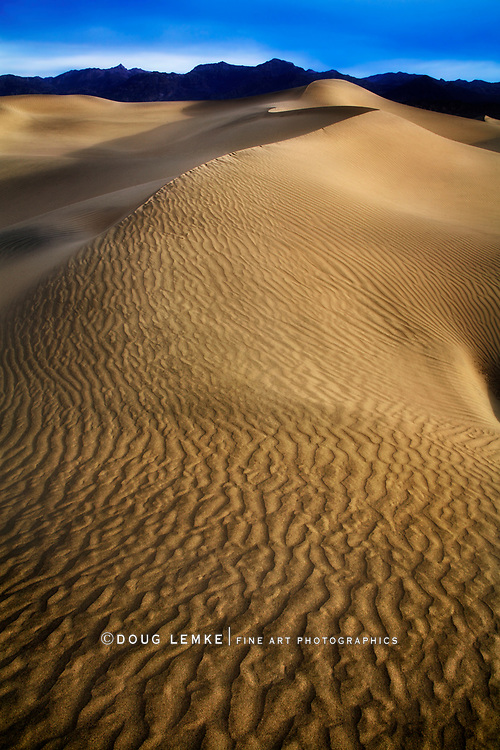 Ripples And Sand Dunes In Death Valley National Park, California, USA