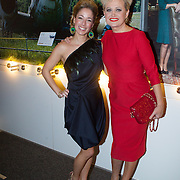 NLD/Hilversum/20131125 - Inloop Musical Awards Gala 2013, Susan Zeegers en Vera Mann