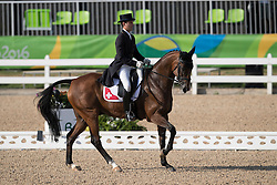 Vogg Felix, SUI, Onfire<br /> Dressage test evening<br /> Olympic Games Rio 2016<br /> © Hippo Foto - Dirk Caremans<br /> 06/08/16