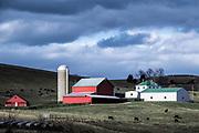 Charming farm, Virginia, USA.