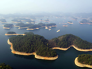 HANGZHOU, March 15, 2016 (Xinhua) -- <br /> <br />  the scenery of the Qiandao Lake, or Thousand-Island Lake, in Chun'an County of Hangzhou, east China's Zhejiang Province. With 1,078 islands scattered across the lake, Qiandao Lake is a famous spot for sightseeing in China. <br /> ©Exclusivepix Media