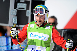 07.03.2014, Carmenna Extrempark, Arosa, SUI, FIS Weltcup Ski Cross, Arosa, im Bild Patrick Gasser (SUI) // during the FIS Ski Cross World Cup Carmenna Extrempark in Arosa, Switzerland on 2014/03/07. EXPA Pictures © 2014, PhotoCredit: EXPA/ Freshfocus/ Claudia Minder<br /> <br /> *****ATTENTION - for AUT, SLO, CRO, SRB, BIH, MAZ only*****