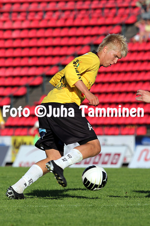 05.07.2010, Ratina, Tampere..Veikkausliiga 2010, Tampere United - Vaasan Palloseura..Jussi Aalto - VPS.©Juha Tamminen.
