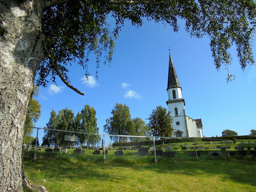 Church in Nord-Odal (Norway) ©Age Bergseteren/ Moro Foto