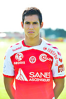 Aissa MANDI - 28.09.2015 - Photo officielle Reims - Ligue 1<br /> Photo : Dave Winter / Icon Sport