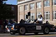 Julie Mann Keppner, the homecoming parade marshall.