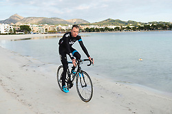 British professional road racing cyclist and winner of the 2013 Tour de France, riding for UCI ProTeam Team Sky Chris Froome at the Sky team's winter training camp in Alcudia, Mallorca, Thursday, 12th December 2013. Picture by i-Images