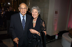 JOAN & SIDNEY BURNSTEIN of Brown's at Fashion Fringe at the British Fashion Awards 2006 sponsored by Swarovski held at the V&A Museum, Cromwell Road, London SW7 on 2nd November 2006.<br />
