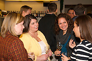 (from left) Amy Musto of the City of Dayton prosecutor's office, Melinda Pregon of Adecco Staffing, Carissa Daum of Miami Valley Hospital and Robyn Revelson during the Generation Dayton annual holiday wine tasting at Winan's Chocolates and Coffees near the Dayton Mall in Miami Township, Thursday, December 1, 2011.