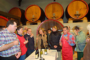 Wine tasting for passengers of MS Cézanne.