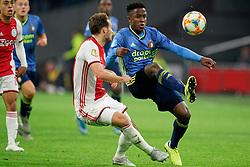 27-10-2019 NED: Ajax - Feyenoord, Amsterdam<br /> Eredivisie Round 11, Ajax win 4-0 / Luis Sinisterra #17 of Feyenoord