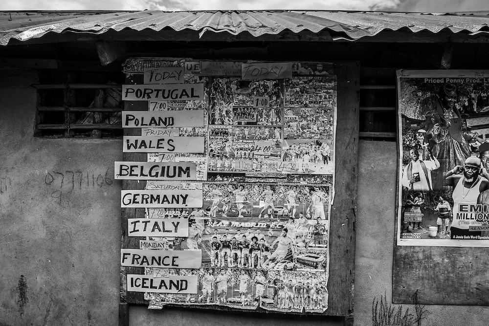 Entertainment Centre. John Logan Town, Liberia.