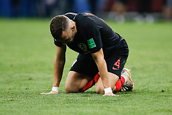 July 11, 2018 - Moscow, Vazio, Russia - Ivan PERISIC of Croatia during the game between England and Croatia valid for the semi final of the 2018 World Cup, held at the Lujniki Stadium in Moscow, Russia. Croatia wins 2-1. (Credit Image: © Thiago Bernardes/Pacific Press via ZUMA Wire)