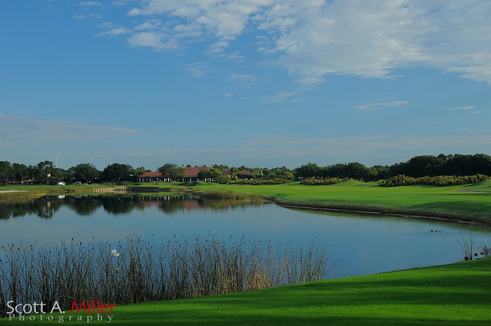 The ninth hole on the North Course (right) at Grand Cypress on Oct. 19, 2010 in Orlando, Florida......©2010 Scott A. Miller