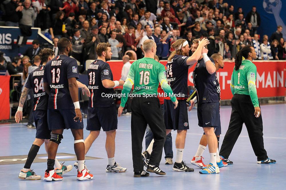 Joie PSG - 03.12.2014 - PSG / Montpellier - 12eme journee de D1<br />Photo : Andre Ferreira / Icon Sport