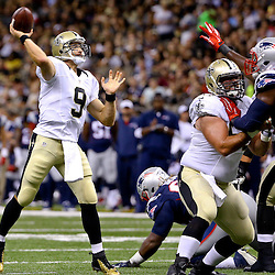 Aug 22, 2015; New Orleans, LA, USA; XXXX during the second half of a preseason game at the Mercedes-Benz Superdome. The Patriots defeated the Saints 26-24. Mandatory Credit: Derick E. Hingle-USA TODAY Sports