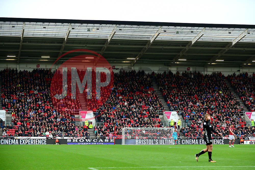 Showcase cinema advertising at Ashton Gate - Mandatory by-line: Dougie Allward/JMP - 21/10/2017 - FOOTBALL - Ashton Gate Stadium - Bristol, England - Bristol City v Leeds United - Sky Bet Championship