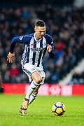 West Bromwich Albion (3) Kieran Gibbs during the Premier League match between West Bromwich Albion and Crystal Palace at The Hawthorns, West Bromwich, England on 2 December 2017. Photo by Sebastian Frej.