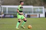 Forest Green Rovers Liam Shephard(2) during the EFL Sky Bet League 2 match between Forest Green Rovers and Notts County at the New Lawn, Forest Green, United Kingdom on 9 February 2019.