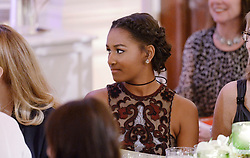 Sasha Obama attends a state dinner at the White House honoring Prime Minister Justin Trudeau and Mrs. Sophie Grégoire Trudeau of Canada March 10, 2016 in Washington, DC. EXPA Pictures © 2016, PhotoCredit: EXPA/ Photoshot/ Olivier Douliery<br /> <br /> *****ATTENTION - for AUT, SLO, CRO, SRB, BIH, MAZ, SUI only*****