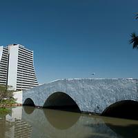 Ponte de pedra, Largo dos acorianos, Porto Alegre, Rio Grande do Sul, Brasil, foto de Ze Paiva, Vista Imagens.