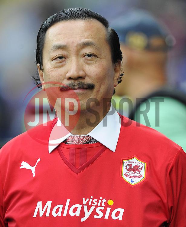 Cardiff City owner, Tan Sri Vincent Tan  - Photo mandatory by-line: Joe Meredith/JMP - Tel: Mobile: 07966 386802 25/08/2013 - SPORT - FOOTBALL - Cardiff City Stadium - Cardiff -  Cardiff City V Manchester City - Barclays Premier League