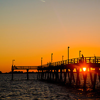 SARASOTA, FL - Saprito Pier. (Photo by Chip Litherland)