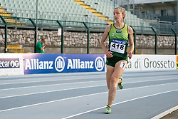 15 / 06 / 2016,  Greta Streimikyte (Swords, Co. Dublin), T13 class, Clonliffe Harriers AC pictured competing in the T12/13 1500m at the 2016 IPC Athletics European Championships in Grosseto, Italy