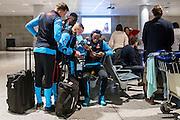 BENAHAVIS - 02-01-2017, Trainingskamp, AZ, AZ speler Mats Seuntjens, AZ speler Derrick Luckassen, AZ speler Iliass Bel Hassani, AZ speler Ridgeciano Haps.