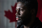 Funsho Dimeji immigrated to Canada from Nigeria in 2000 when he was nine years-old. The now 24-year-old Loyalist College student-athlete says that his father wanted him to have a better education and life, so they came to Canada. Since arriving in Canada, Dimeji hasn't been back to visit Nigeria, but he says he is interested in going after graduation. <br /> Canadians new and old will celebrate the country's flag's 51 birthday on Feb. 15 this year.