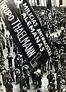 Spanish Civil War - International Brigade. The Thaelmann Battalion of German volunteers. 1936-1938.