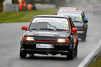 #18 Michael Heath Ford Fiesta XR2 during Lee Bowron Ltd XR Challenge - Qualifiying  as part of the Easter Family Fun Day - Oulton Park Fosters at Oulton Park, Little Budworth, Cheshire, United Kingdom. March 28 2016. World Copyright Peter Taylor/PSP. Copy of publication required for printed pictures.  Every used picture is fee-liable. http://archive.petertaylor-photographic.co.uk