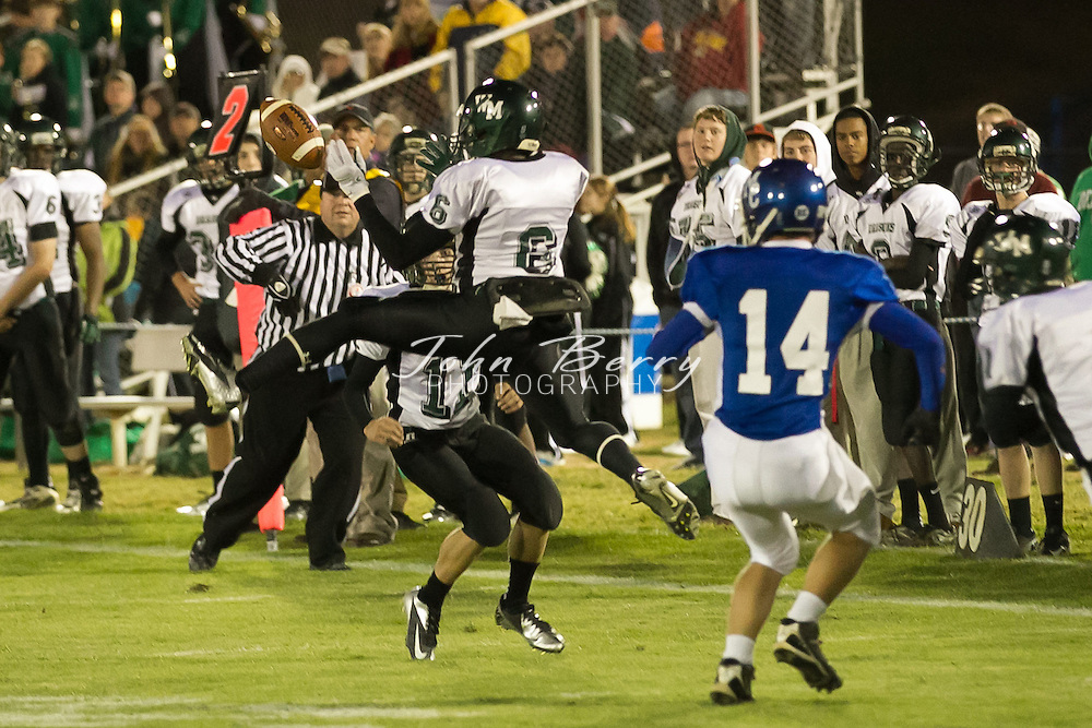October/12/12:  MCHS Varsity Football vs William Monroe.  Madison wins 48-14 over the Dragons.