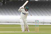 Mark Cosgrove drives during the Specsavers County Champ Div 2 match between Middlesex County Cricket Club and Leicestershire County Cricket Club at Lord's Cricket Ground, St John's Wood, United Kingdom on 17 May 2019.