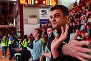 Valerio Grigioni<br /> Banco di Sardegna Dinamo Sassari - Segafredo Virtus Bologna<br /> Legabasket LBA Serie A 2019-2020<br /> Sassari, 22/12/2019<br /> Foto L.Canu / Ciamillo-Castoria