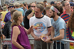 Audience - The Grateful Dead Fare Thee Well Concert at Chicago's Soldier Field. 5 July 2015.