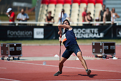 PUEBLA Matias, ARG, Javelin, F46, 2013 IPC Athletics World Championships, Lyon, France