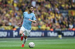 Bernardo Silva of Manchester City on the ball - Mandatory by-line: Arron Gent/JMP - 18/05/2019 - FOOTBALL - Wembley Stadium - London, England - Manchester City v Watford - Emirates FA Cup Final