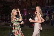 ANYA BARKER; EMILY STEEL, V & A Summer party. South Kensington. London. 22 June 2016