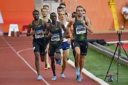 July 20, 2018 - Monaco, France - 1000 metres homme - Andreas Kramer (Suede) - Solomon Lekuta (Kenya) - Do Rosario Andre  (Credit Image: © Panoramic via ZUMA Press)