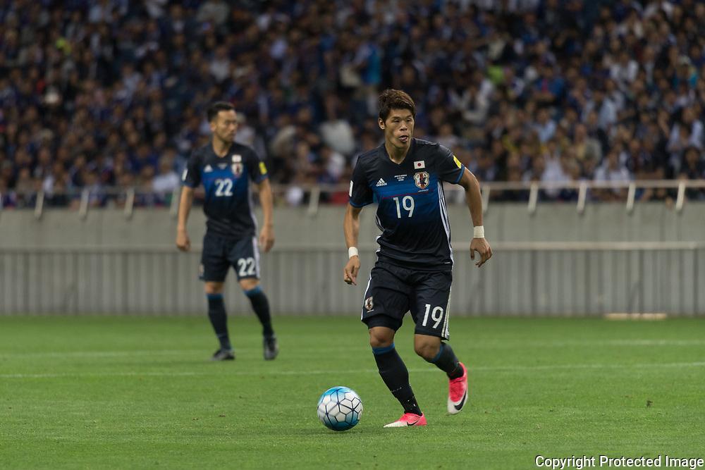 Football Soccer - Japan v Australia - World Cup 2018 Qualifier - Saitama Stadium 2002, Saitama, Japan - 31/08/17. Japan's Hiroki Sakai in action. 31/08/2017-Saitama, JAPAN